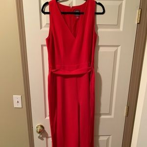 Vince Camuto Jumpsuit Red